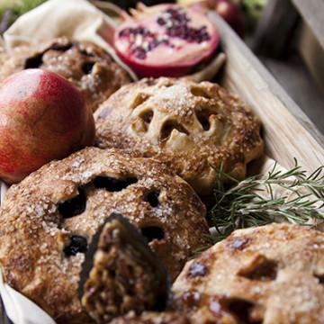 Ashley Ruzich Food Photography in Asheville North Carolina karen Donatelli Hand pies pastries