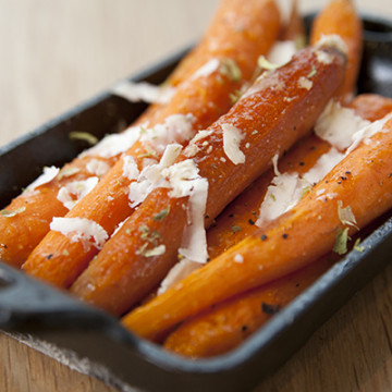 Ashley Ruzich Product Photography in Asheville North Carolina Sierra Nevada Brewing Pub Wood Fired Carrots