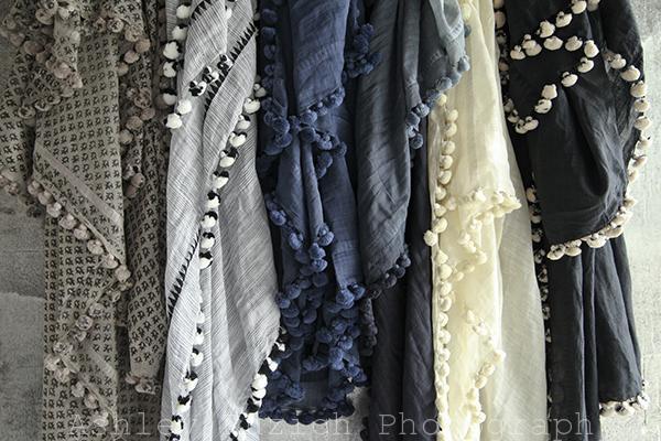 silk scarves -Ashley Ruzich Photography