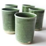 Ceramic cups oribe -Ashley Ruzich Photography