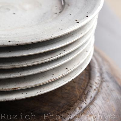Japanese Ceramic plates - Ashley Ruzich Photography