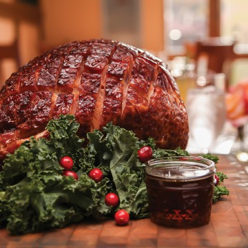 Southern Cuisine New Years Day Ham Ashley Ruzich Asheville Grove Park Inn