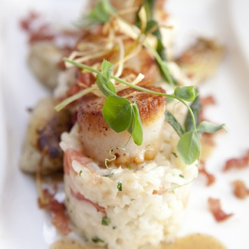 scallops at The Square Root In Bravard Brunch Ashley Ruzich Photography